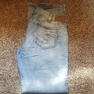 Silver brand jeans womens size 36x35.